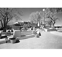 Taos Plaza Photographic Print