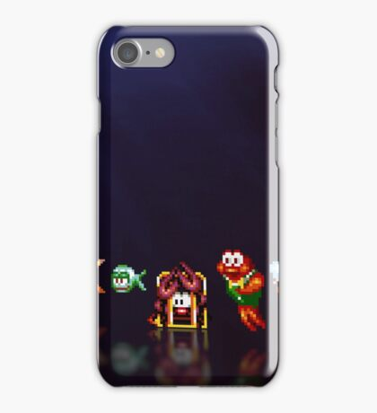 James Pond pixel art iPhone Case/Skin