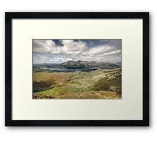 Lough Inagh Valley Framed Print