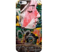 Fitzroy alley paste up iPhone Case/Skin