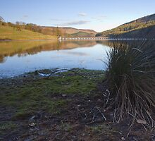 Reflections, Ladybower Reservoir. by Nick Atkin