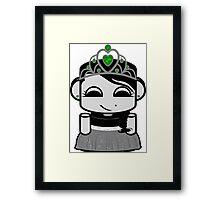 Mari O'babybot Framed Print