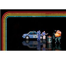 E-Swat - Cyber Police pixel art Photographic Print
