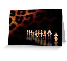 Leisure Suit Larry pixel art Greeting Card