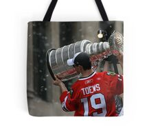 TAZER WITH THE STANLEY CUP! Tote Bag