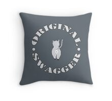 Original Swagger (Gray) Throw Pillow