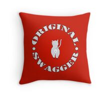 Original Swagger (Red) Throw Pillow