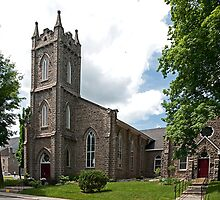 Saint Paul's, Brockville. 1840. by Mike Oxley