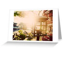 Lamp post Greeting Card