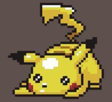 Pixel Pikachu by Dylan526