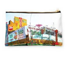 Nathan's, Coney Island, Brooklyn, NY Studio Pouch