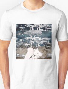 """Dreaming of Life"" Aquatint Etching Unisex T-Shirt"
