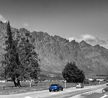 Below The Remarkables. by Larry Lingard-Davis