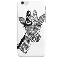 cool giraffe iPhone Case/Skin