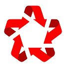 recycle red star Symbol of new communism era  by SofiaYoushi