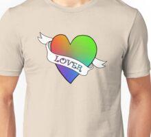 Lover's Heart (Beige) Unisex T-Shirt
