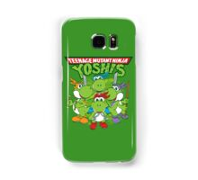Teenage Mutant Ninja Yoshis Samsung Galaxy Case/Skin