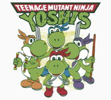 Teenage Mutant Ninja Yoshis One Piece - Long Sleeve