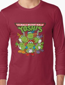 Teenage Mutant Ninja Yoshis Long Sleeve T-Shirt