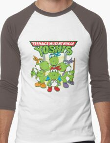 Teenage Mutant Ninja Yoshis Men's Baseball ¾ T-Shirt