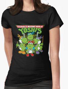 Teenage Mutant Ninja Yoshis Womens Fitted T-Shirt