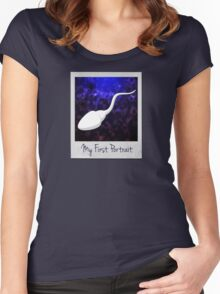 My First Portrait Women's Fitted Scoop T-Shirt