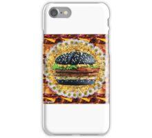 floral hamburger iPhone Case/Skin