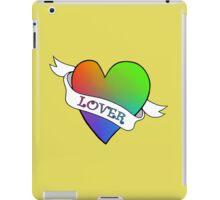 Lover's Heart (Gold) iPad Case/Skin