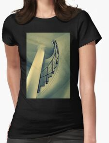 The Staircase Womens Fitted T-Shirt