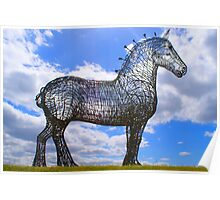 the working horse Poster