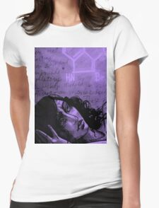 Hope (Purple Edition) Womens Fitted T-Shirt