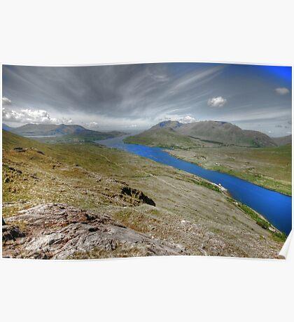 Killary Fjord View Poster