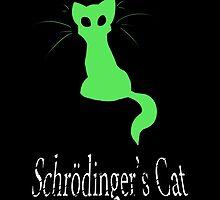 Schrödinger's Cat by Blacklightco
