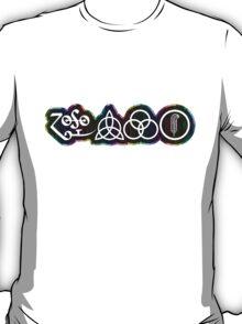 TRIQUETRA - RAINBOW METAL STICKER T-Shirt