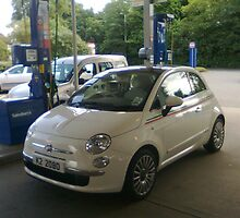 What a cute car.. is it a Fiat? by tim norman