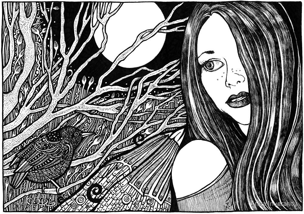 Lynsye's Midnight Garden by Anita Inverarity