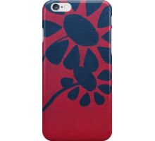 Flowers' Silhouette iPhone Case/Skin