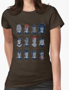 The Many Lives of Spock 1 Womens Fitted T-Shirt