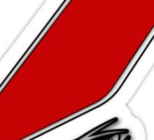 Kimi Räikkönen 7 red Sticker