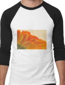 Orange Gerbera Daisy 2, As Is Men's Baseball ¾ T-Shirt