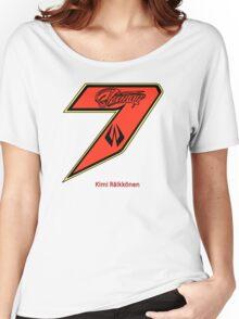 Kimi Raikkonen  Women's Relaxed Fit T-Shirt