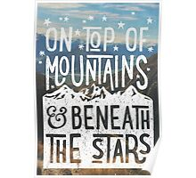 On Top Of Mountains Poster