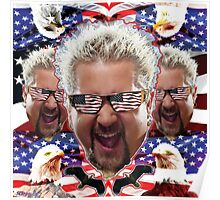 GUY AMERICA Poster