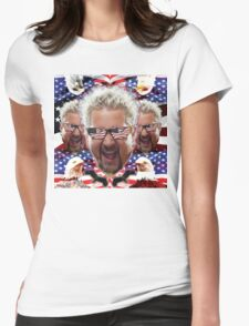 GUY AMERICA Womens Fitted T-Shirt