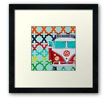 Vintage VW Framed Print