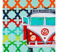 Vintage VW Photographic Print