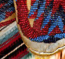 Blackfeet Moccasins by Kay Kempton Raade
