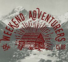 Weekend Adventurers Club by cabinsupplyco