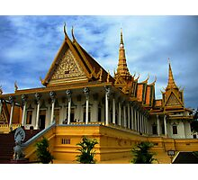 Throne Hall, Royal Palace complex, Phnom Penh Photographic Print