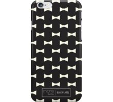 MBJP X Black Label Bow Tie Pattern iPhone Case/Skin